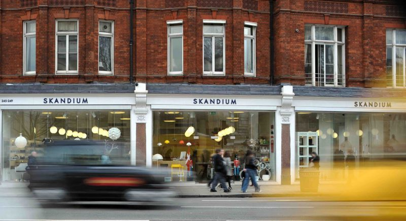 Skandium, boutique deco scandinave Londres