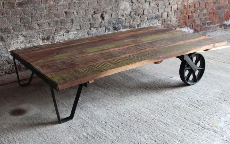 Table basse deco industrielle