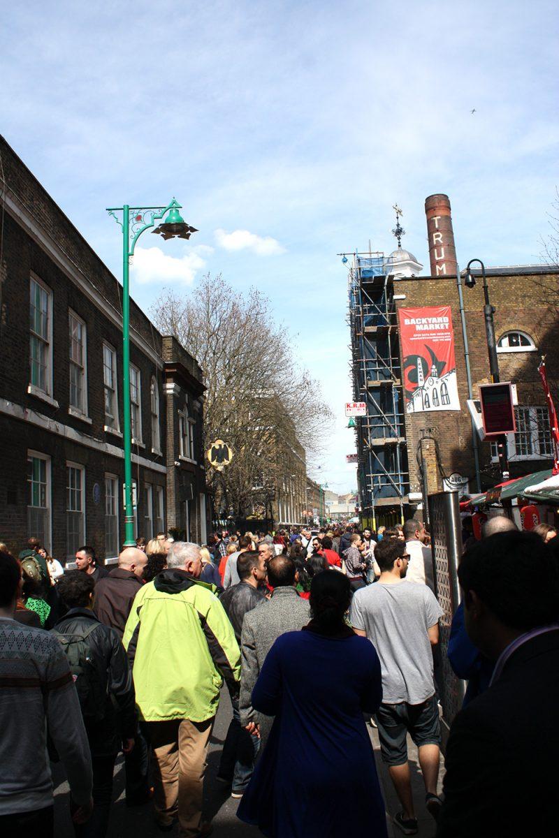Brick Lane à Londres