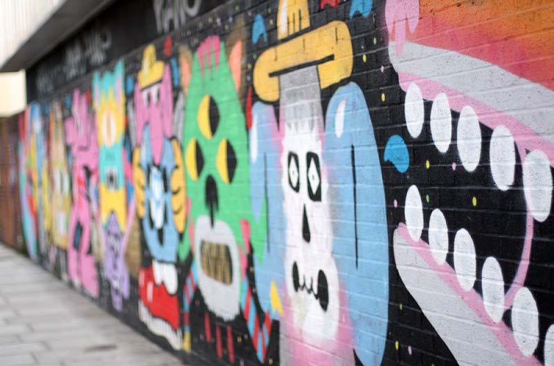 Street Art à Brick Lane Londres