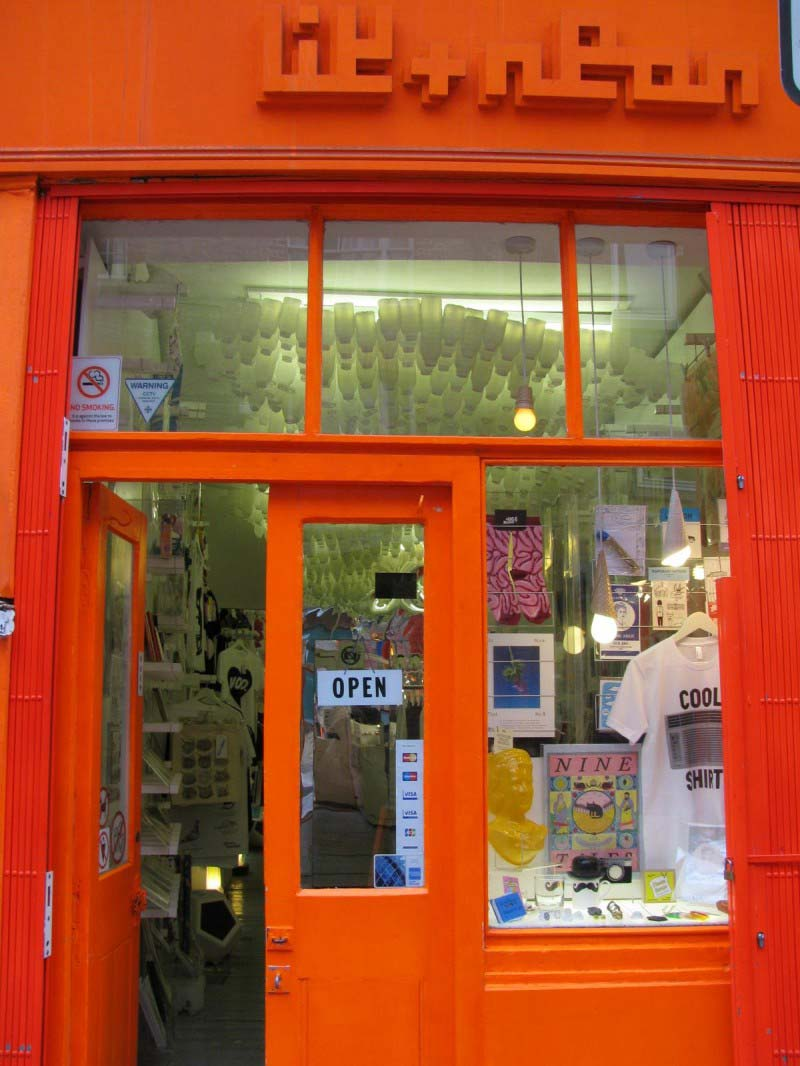 Lik + Neon, boutique d'affiches déco à Londres
