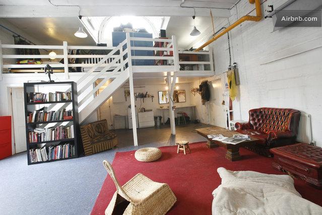 Loft à louer à Londres avec Airbnb