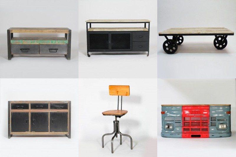 Mobilier esprit industriel par Made in meubles