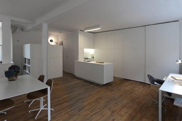 loft d 39 architecte paris. Black Bedroom Furniture Sets. Home Design Ideas