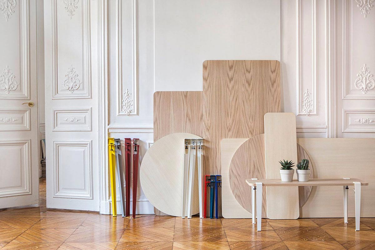 Pieds pour cr er une table basse - Creer une table basse ...