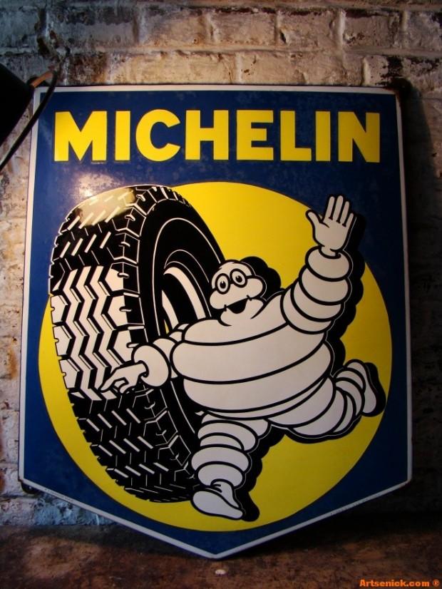 Plaque Michelin ancienne