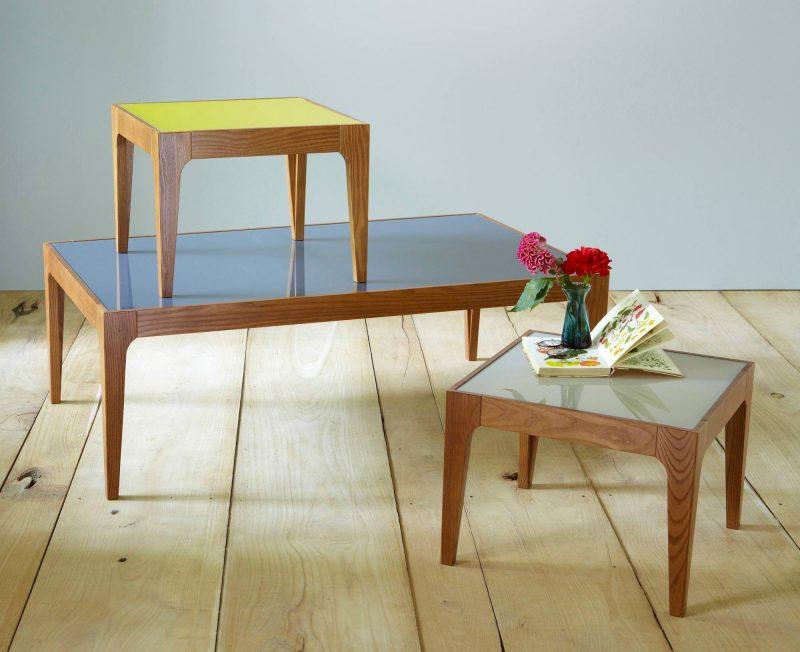 table basse 3suisses en verre et fr ne. Black Bedroom Furniture Sets. Home Design Ideas