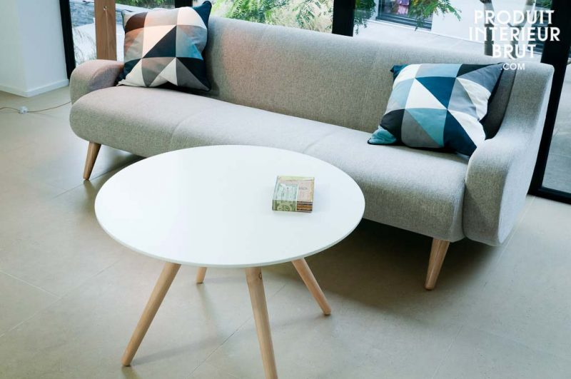51 id es de table basse d co pour votre salon - Table basse ronde pas chere ...