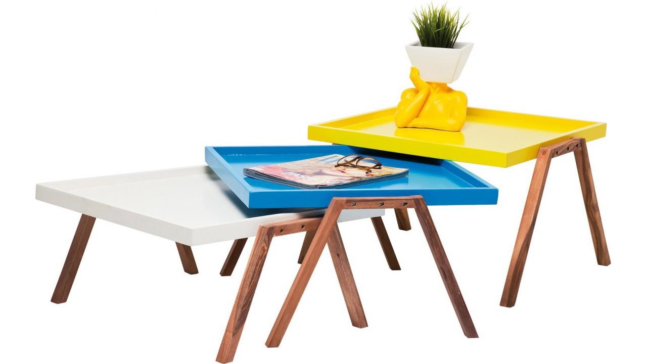 table basse design empilables. Black Bedroom Furniture Sets. Home Design Ideas