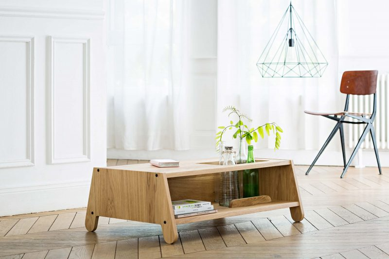 Table basse en bois sur-mesure
