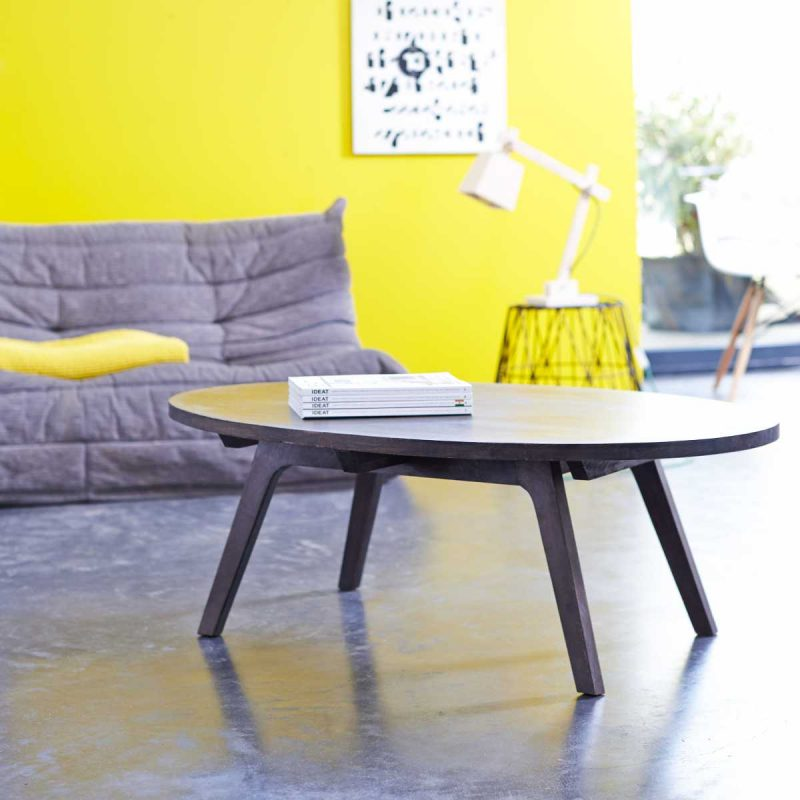 Table basse en manguier par Tikamoon