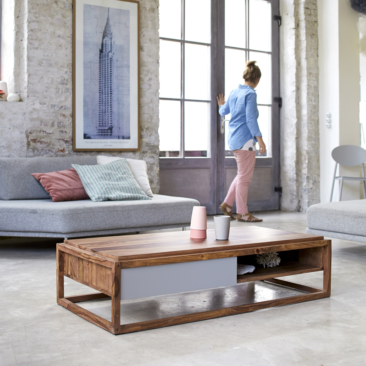 53 id es de table basse d co pour votre salon - Table basse design solde ...