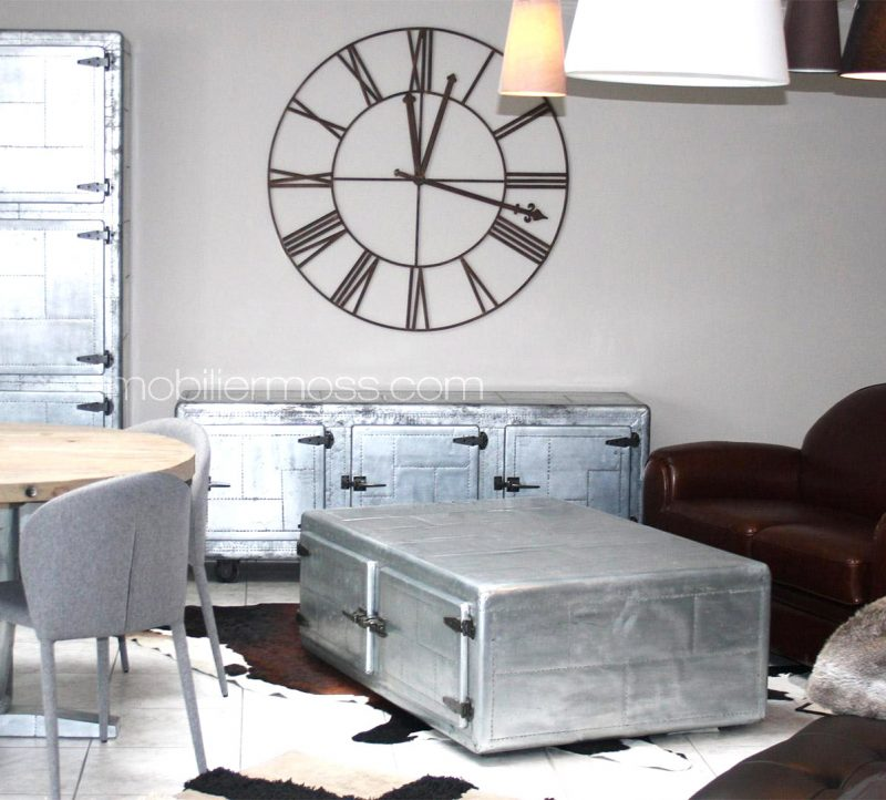 great perfect table basse en zinc with plaque de zinc pour. Black Bedroom Furniture Sets. Home Design Ideas