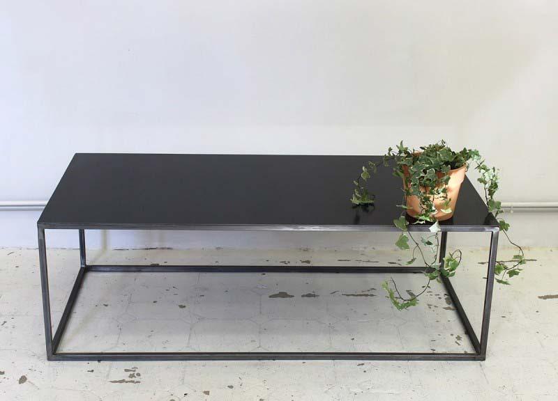 Table basse sur mesure en métal Atelier 159