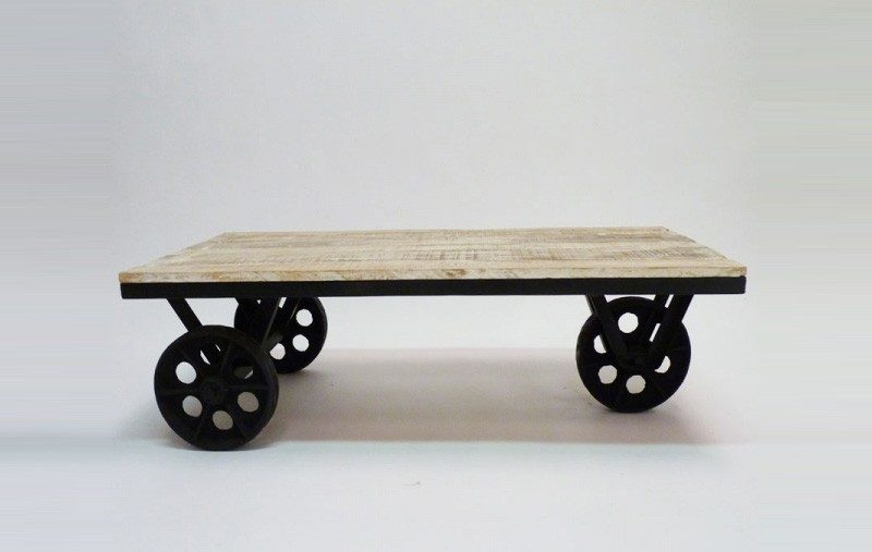 table basse roulette stunning table basse ronde. Black Bedroom Furniture Sets. Home Design Ideas