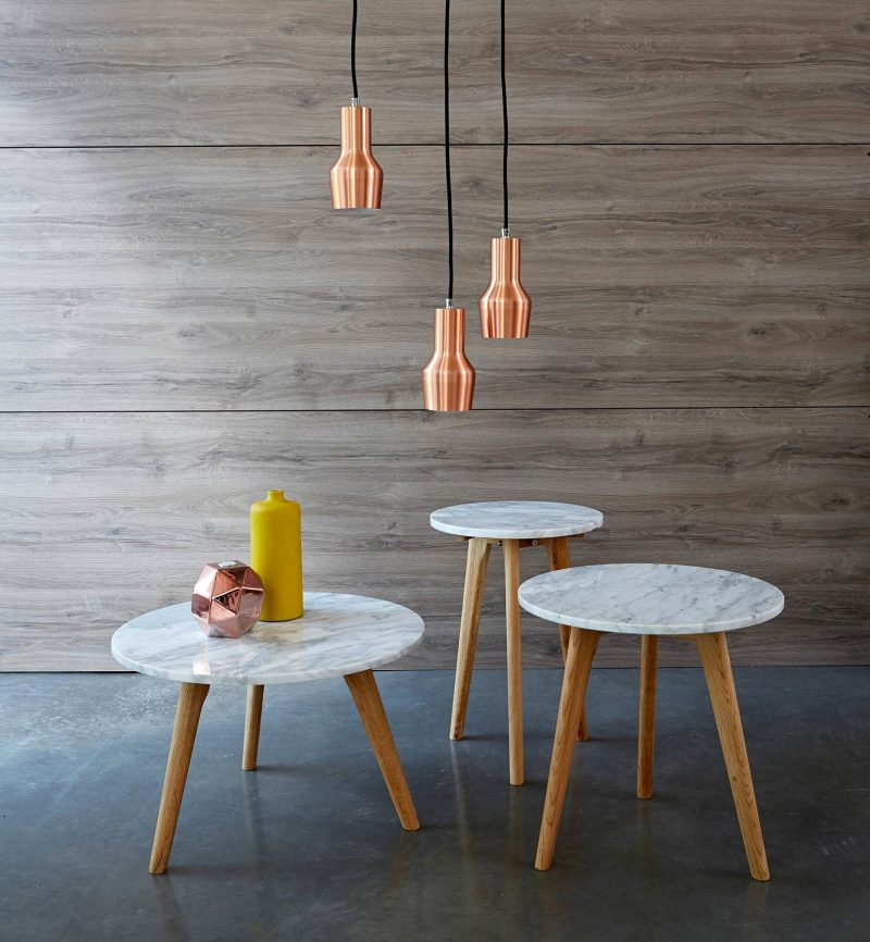 table basse avec plateau en marbre. Black Bedroom Furniture Sets. Home Design Ideas