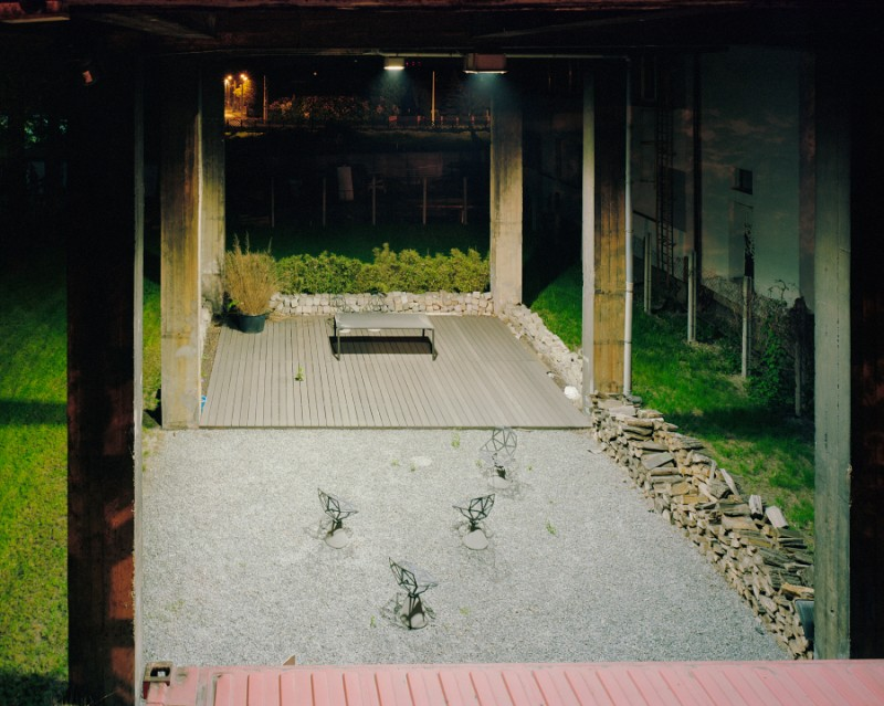 Cour extérieur du loft