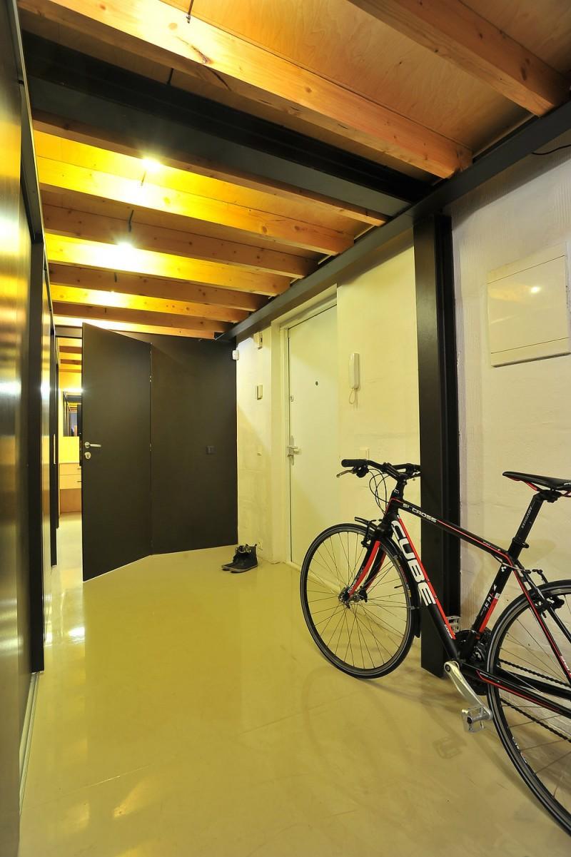 Couloir d'entrée du loft