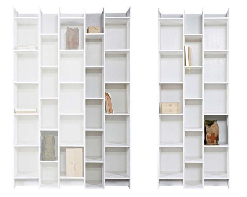Bibliotheque 3 colonnes et 2 colonnes