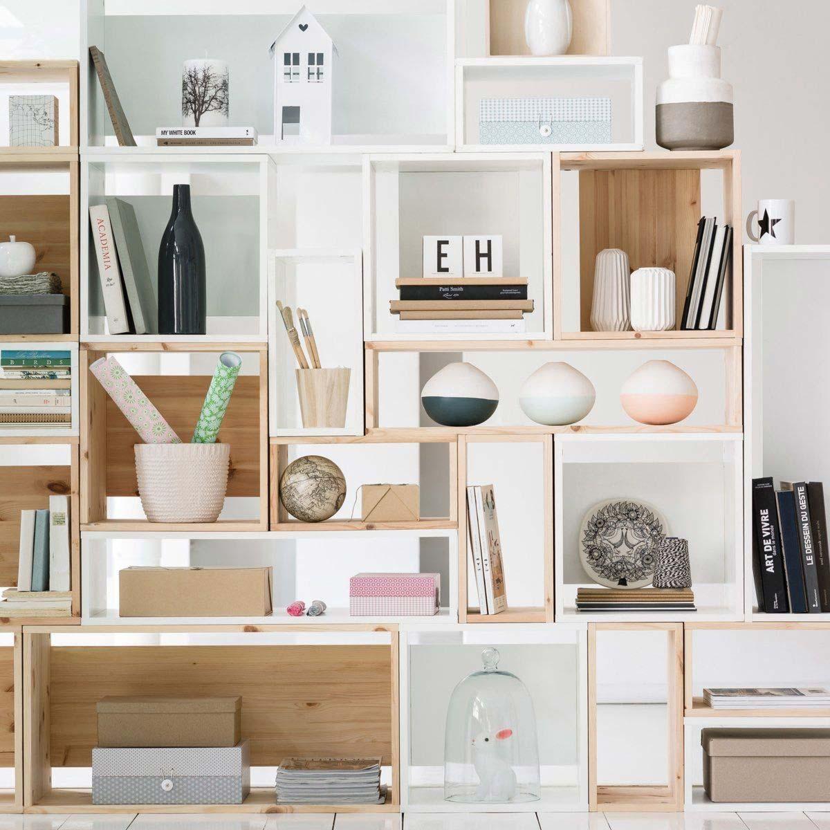 biblioth que sur mesure la redoute. Black Bedroom Furniture Sets. Home Design Ideas
