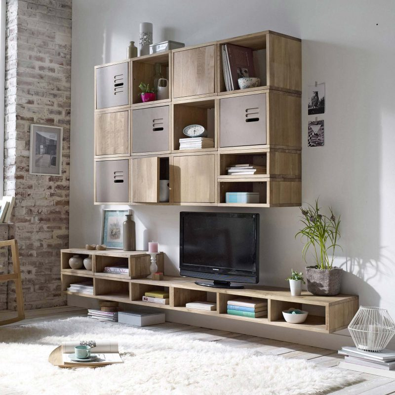 33 id es de biblioth que modulable. Black Bedroom Furniture Sets. Home Design Ideas
