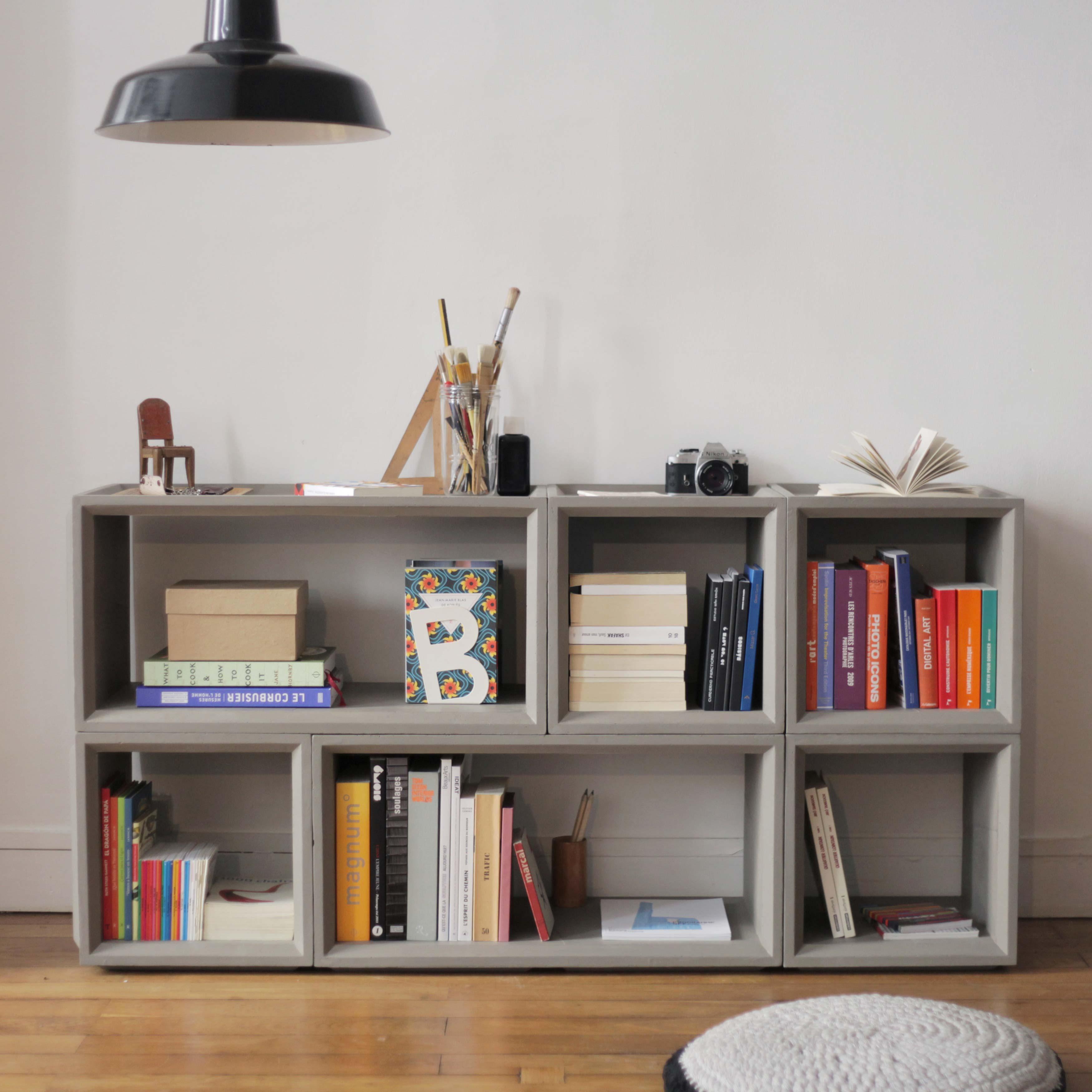 etag re modulable en b ton. Black Bedroom Furniture Sets. Home Design Ideas
