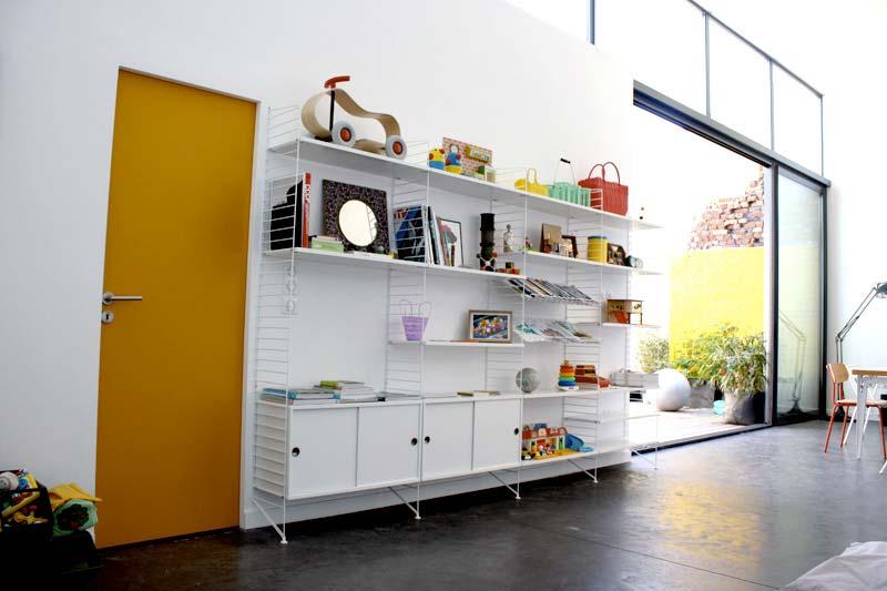 33 id es de biblioth que modulable - Combinaison murale design ...