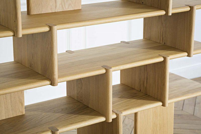 Étagère sur-mesure en bois design