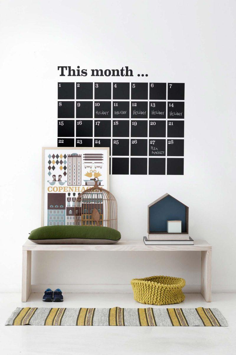 Sticker calendrier Ferm Living