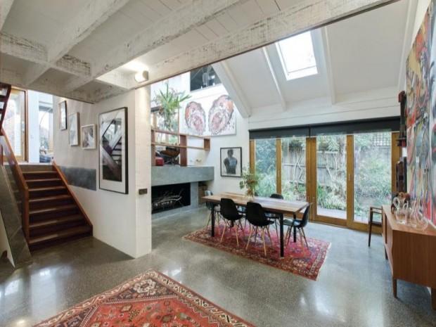 maison esprit loft melbourne. Black Bedroom Furniture Sets. Home Design Ideas
