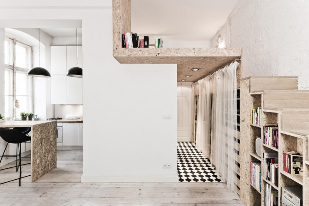 Small Studio Loft Apartment 620 x 413