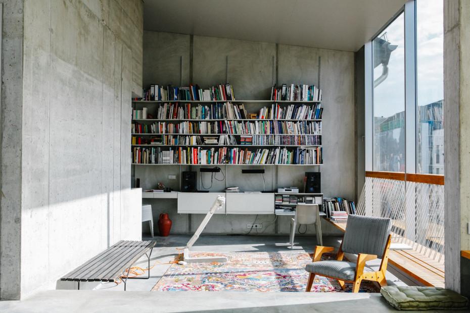 Appartement béton à Berlin