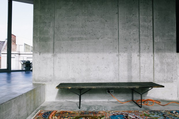 appartement b ton berlin. Black Bedroom Furniture Sets. Home Design Ideas