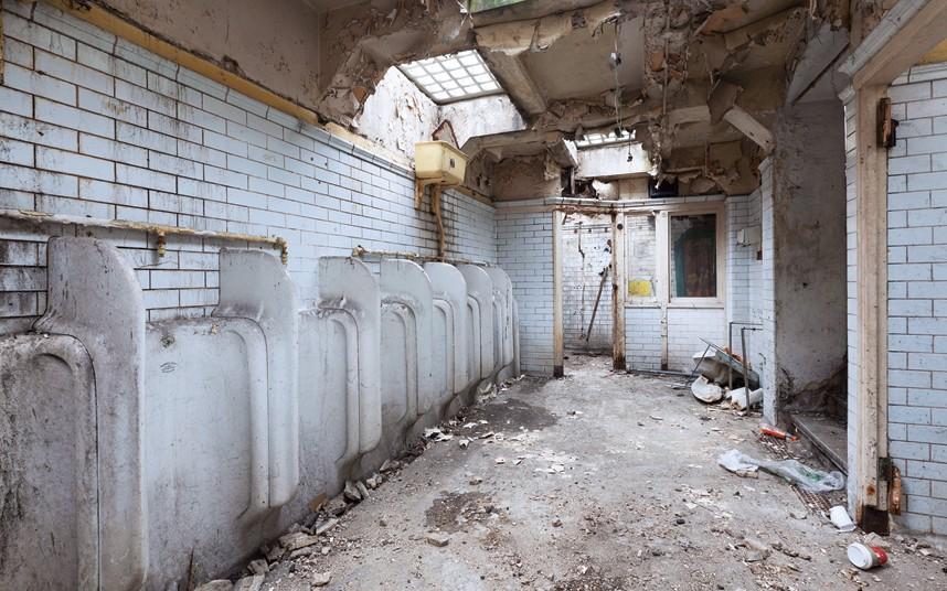 Toilettes publiques transformés en loft !