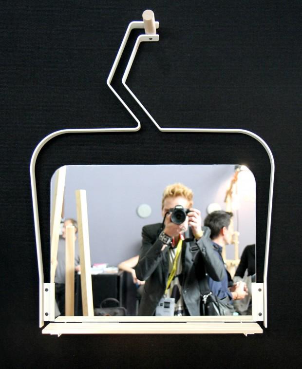 Miroir télésiège déco