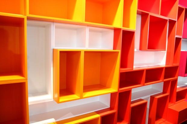 bibliothèque MDF