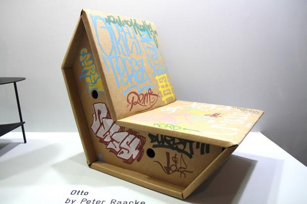 Fauteuil en carton