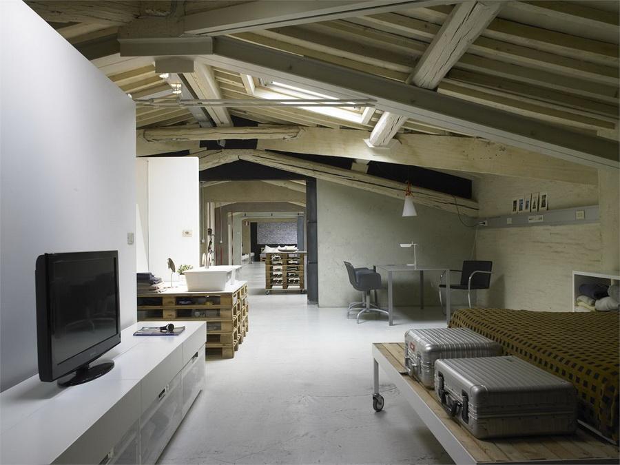Loft à Florence par Q-BIC