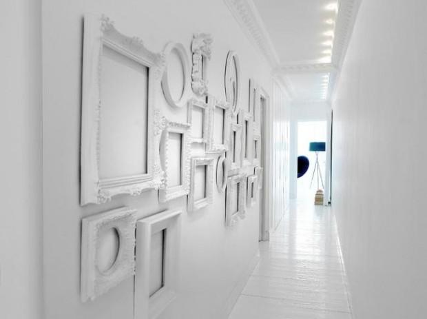 25 id es d co pour habiller un mur - Deco cadres photos mur ...