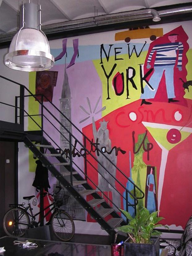 deco mur new york