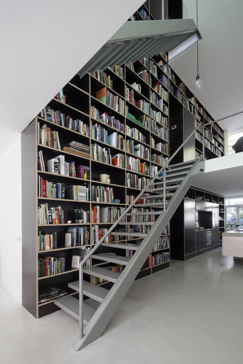 Mur bibliotheque