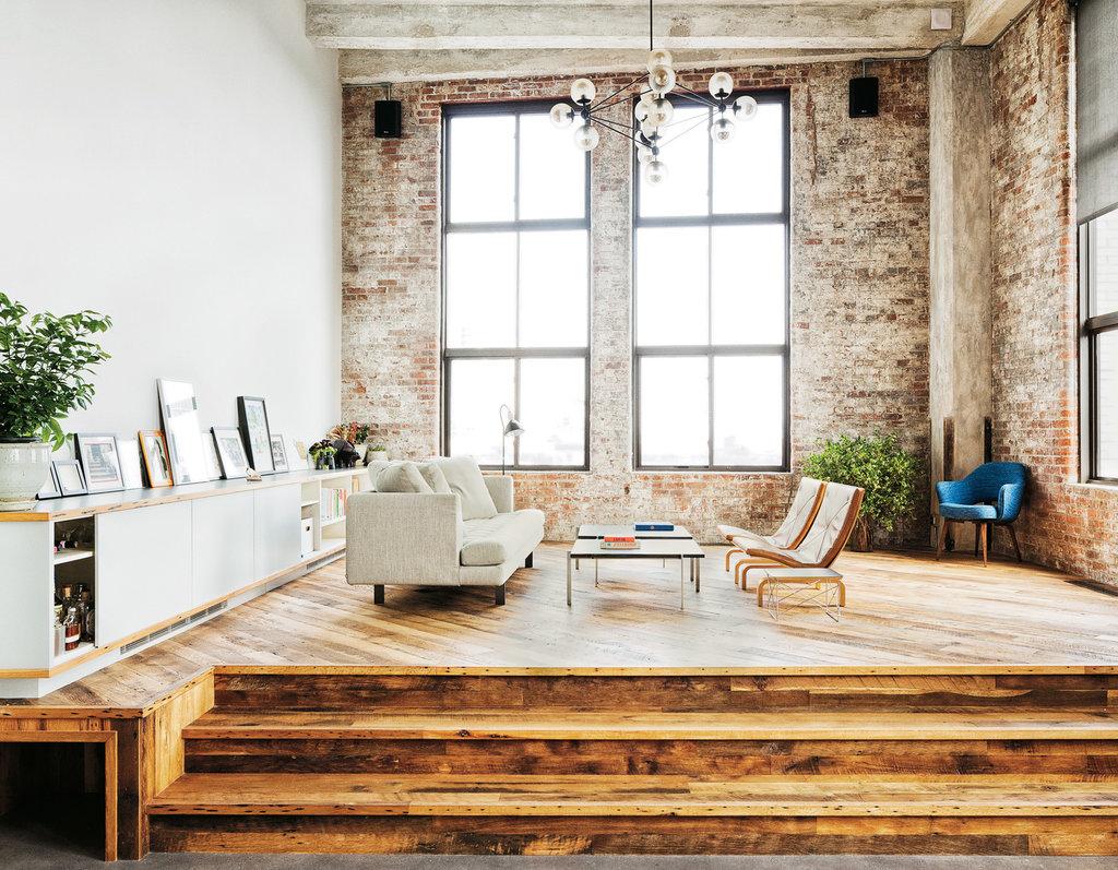 Le loft du fondateur de tumblr brooklyn - Brooklyn apartment interior design ...