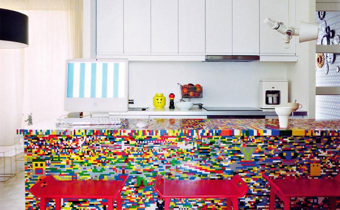 Cuisine en lego