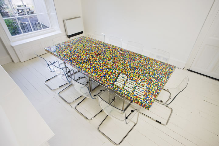 table en lego