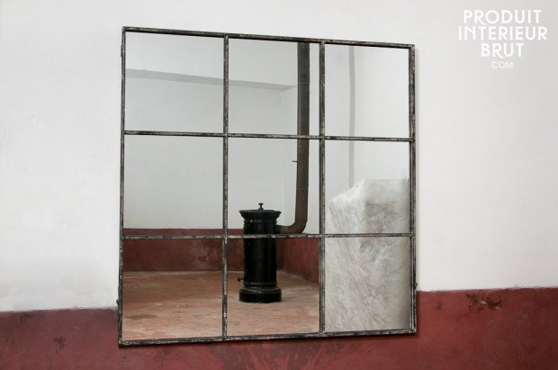 25 id es d co pour habiller un mur for Miroir industriel