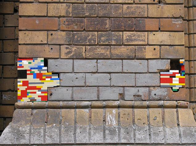 Street Art LEGO