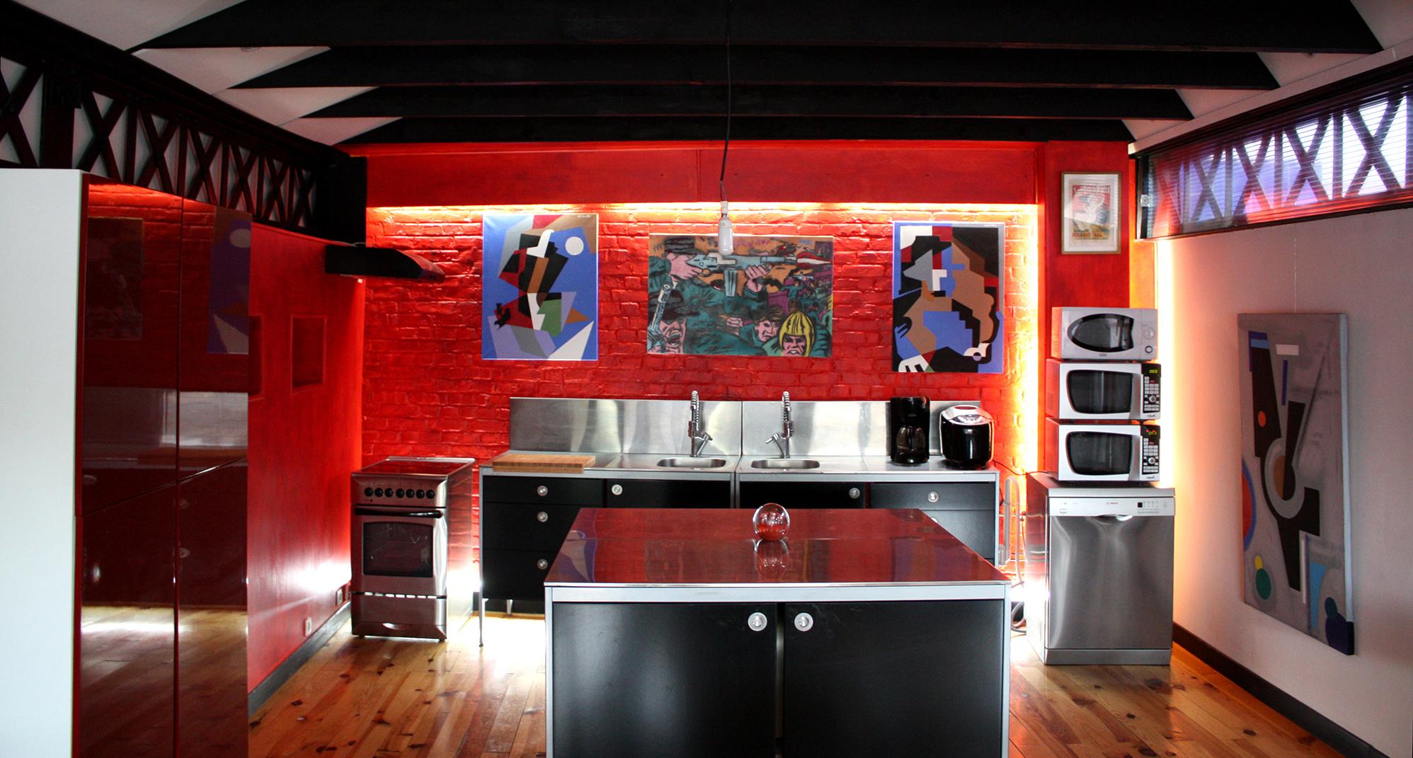Notre loft blog d co id es d co et photos de lofts for Cuisine 3d ikea 2013