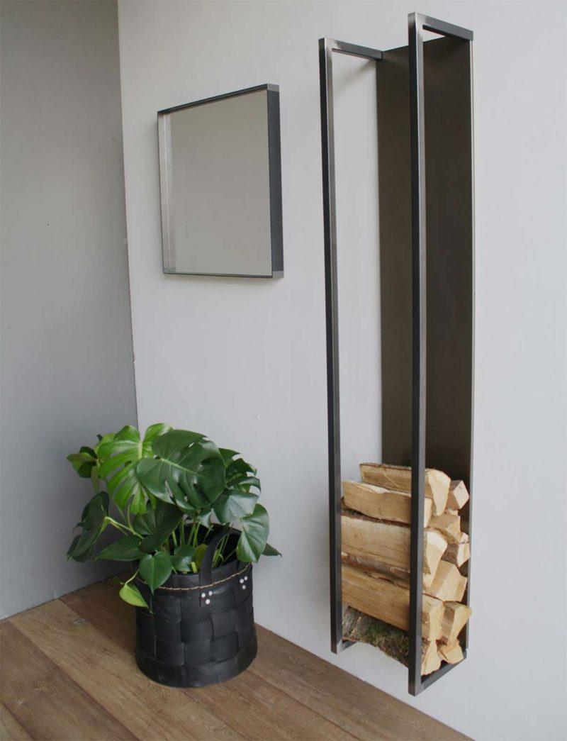 range b ches int rieur 27 id es d co pour stocker votre bois. Black Bedroom Furniture Sets. Home Design Ideas