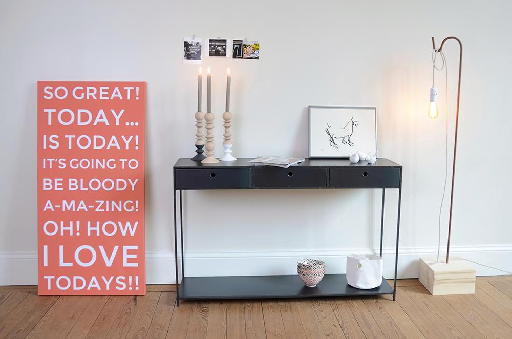 tableau personnalis avec vos propres mots. Black Bedroom Furniture Sets. Home Design Ideas