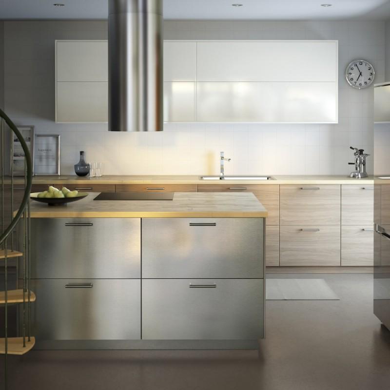 Cuisine Ikea Metod avec façades GREVSTA